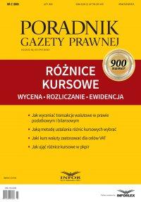 Różnice kursowe - wycena, rozliczanie, ewidencja - Aneta Szwęch