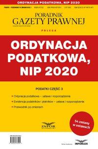 Ordynacja podatkowa, NIP 2020 - Opracowanie zbiorowe