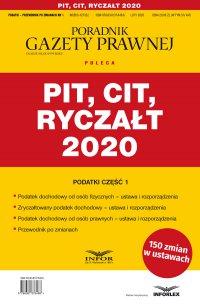 PIT, CIT, Ryczałt 2020 - Opracowanie zbiorowe