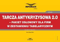 Tarcza antykryzysowa 2.0 – pakiet osłonowy dla firm w zestawieniu tabelarycznym - Ewa Sławińska