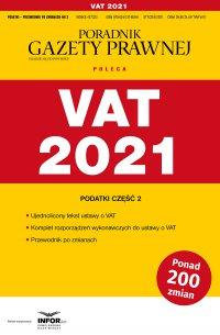 VAT 2021 - Opracowanie zbiorowe