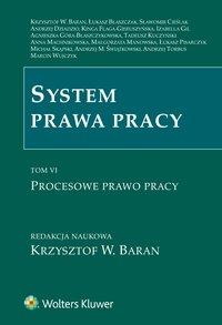 System prawa pracy. TOM VI. Procesowe prawo pracy - Agnieszka Góra-Błaszczykowska