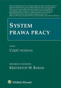 System prawa pracy. TOM I. Część ogólna - Monika Lewandowicz-Machnikowska