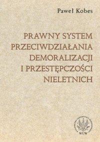 Prawny system przeciwdziałania demoralizacji i przestępczości nieletnich - Paweł Kobes
