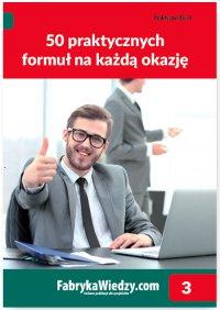 50 praktycznych formuł na każdą okazję - Jakub Kudliński