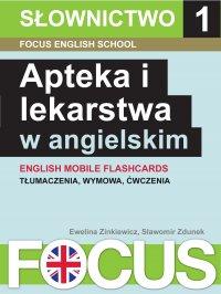 Apteka i lekarstwa w angielskim. Zestaw 1 - Ewelina Zinkiewicz