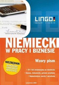 Niemiecki w pracy i biznesie. Wzory pism - Iwona Kienzler
