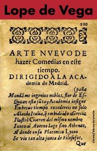 Nowa sztuka pisania komedii w dzisiejszych czasach przedstawiona Akademii w Madrycie - Lope de Vega
