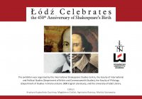 Łódź Celebrates the 450th Anniversary of Shakespeare's Birth - Krystyna Kujawińska Courtney