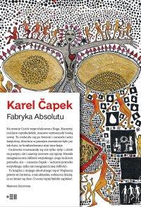 Fabryka Absolutu - Karel Čapek