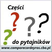 Części do pytajników (teksty) - Comporecordeyros