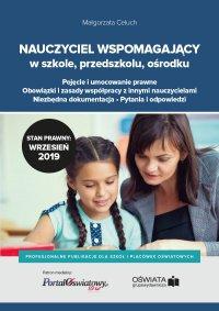 Nauczyciel wspomagający w szkole, przedszkolu i ośrodku - Małgorzata Celuch