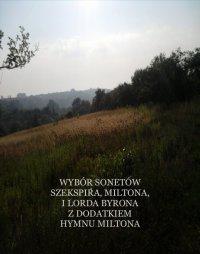 Wybór sonetów poetów angielskich - Antologia