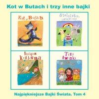 Kot w Butach i trzy inne bajki - Opracowanie zbiorowe , Grzegorz Kasdepke