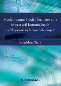 Modelowanie źródeł finansowania inwestycji komunalnych a efektywność wydatków publicznych - Magdalena Zioło