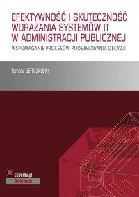 Książka stanowi omówienie sposobu wdrażania systemów IT i skuteczność ich działania w publicznych służbach zatrudnienia - Tomasz Jeruzalski