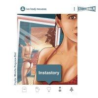 Instastory - Iva Hadj Moussa