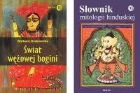 ODCIENIE HINDUZIMU Pakiet - Słownik mitologii hinduskiej, Świat wężowej Bogini - Barbara Grabowska, Barbara Grabowska