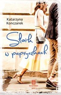 Słoik w papryczkach - Katarzyna Konczarek