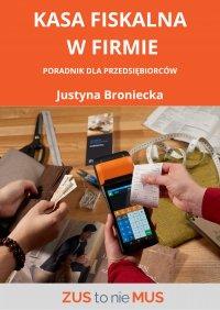Kasa fiskalna w firmie - Justyna Broniecka