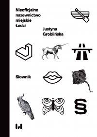 Nieoficjalne nazewnictwo miejskie Łodzi. Słownik - Justyna Groblińska