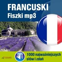 Francuski Fiszki mp3 1000 najważniejszych słów i zdań (nagrania mp3) - Opracowanie zbiorowe