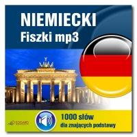 Niemiecki Fiszki mp3 1000 słówek dla znających podstawy - Opracowanie zbiorowe