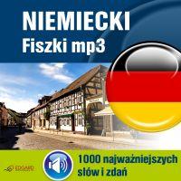 Niemiecki Fiszki mp3 1000 najważniejszych słów i zdań (nagrania mp3) - Opracowanie zbiorowe