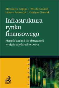 Infrastruktura rynku finansowego - kierunki zmian i ich skuteczność w ujęciu międzysektorowym - Mirosława Capiga