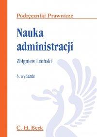 Nauka administracji - Zbigniew Leoński