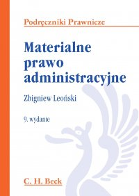 Materialne prawo administracyjne - Zbigniew Leoński