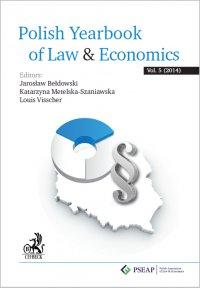 Polish Yearbook of Law&Economics Vol. 5 (2014) - Jarosław Bełdowski