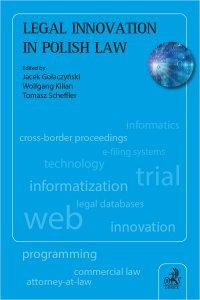 Legal Innovation in Polish Law - Jacek Gołaczyński
