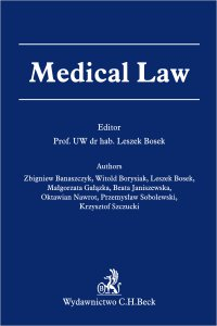 Medical Law - Leszek Bosek
