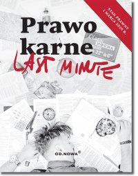 Last Minute. Prawo karne - Anna Talaga