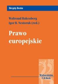Prawo europejskie - Igor B. Nestoruk
