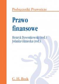 Prawo finansowe - Henryk Dzwonkowski