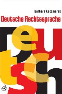 Deutsche Rechtssprache - Barbara Kaczmarek