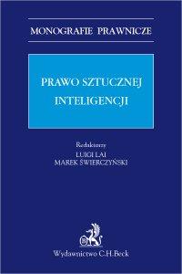 Prawo sztucznej inteligencji - Luigi Lai