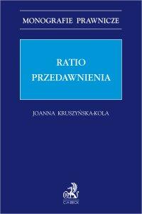 Ratio przedawnienia - Joanna Kruszyńska-Kola