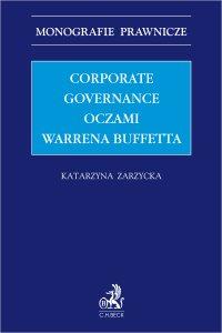 Corporate governance oczami Warrena Buffetta - Katarzyna Zarzycka