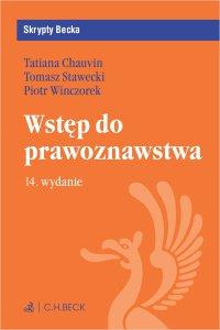 Wstęp do prawoznawstwa. Wydanie 14 - Tatiana Chauvin
