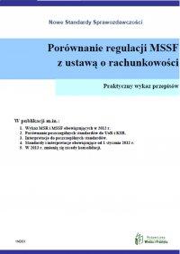 Porównanie regulacji MSSF z ustawą o rachunkowości - Opracowanie zbiorowe