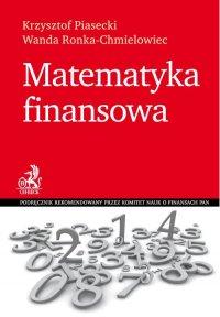 Matematyka finansowa - Krzysztof Piasecki