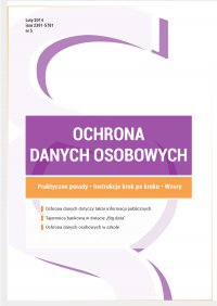 Ochrona danych osobowych - wydanie luty 2015 r. - Xawery Konarski