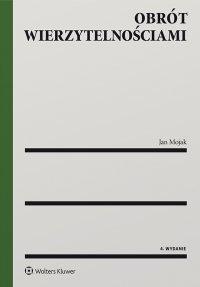 Obrót wierzytelnościami - Jan Mojak