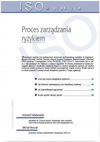 Proces zarządzania ryzykiem - Michał Borucki