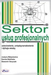Sektor usług profesjonalnych - Justyna Matysiewicz