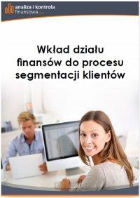 Wkład działu finansów do procesu segmentacji klientów - Jacek Folga