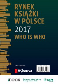 Rynek książki w Polsce 2017. Who is who - Piotr Dobrołęcki